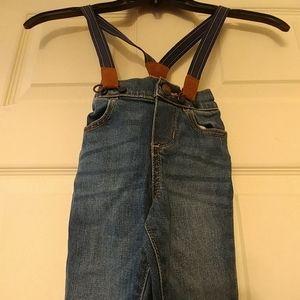 Oshkosh Boys Jeans and Suspenders